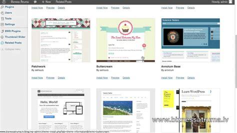 Kā izveidot blogu. Wordpress apskats - YouTube