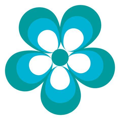 foto de Blue flower icon 2 Transparent PNG & SVG vector file
