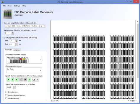 Character Generator Data Template Xml by Lto Barcode Label Generator 1 2 0 Released Norman Bauer