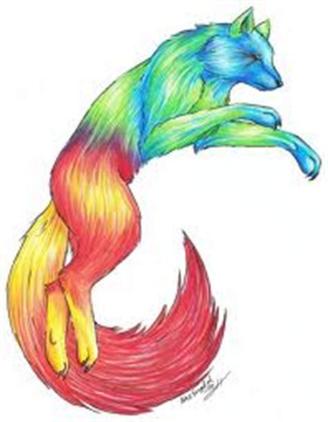 Anime Rainbow Wolf Wallpaper by Wolves Images Rainbow Wolf Wallpaper And Background Photos