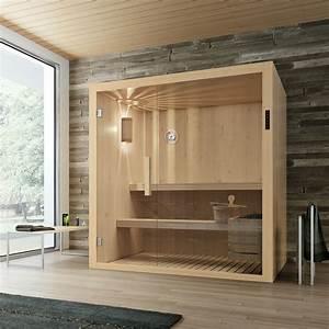 Badezimmer Mit Sauna : bad wellness24 sauna kyra mit glasfront f rs badezimmer ~ A.2002-acura-tl-radio.info Haus und Dekorationen
