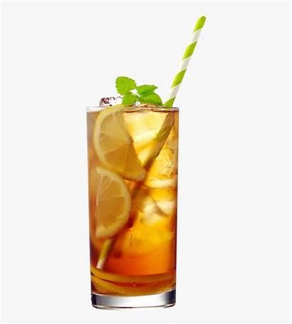 Tea Iced Lemon Clipart Transparent Sweet Apple