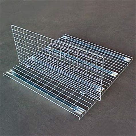 wire shelf dividers wire mesh rack supermarket pallet metal hanging shelf