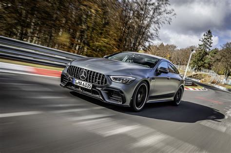 It has twice the doors and twice the seats of any amg gt before it. 2021 Mercedes-AMG GT 63 S 4-Door Coupe made faster—Nürburgring proves it | BMWFiend.com