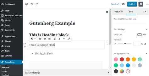 Gutenberg « Wordpress Codex