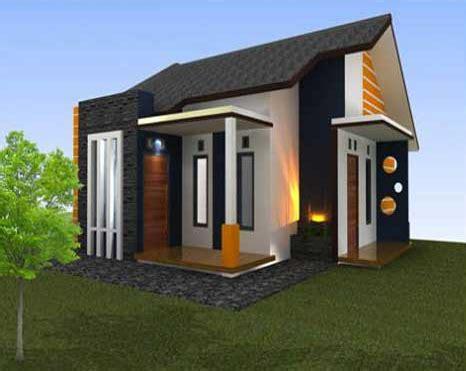 model rumah minimalis  sederhana  gambar om
