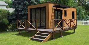 Chalet Habitable Sans Permis De Construire : maison eco bois maisons en bois cologiques et conomiques ~ Dallasstarsshop.com Idées de Décoration