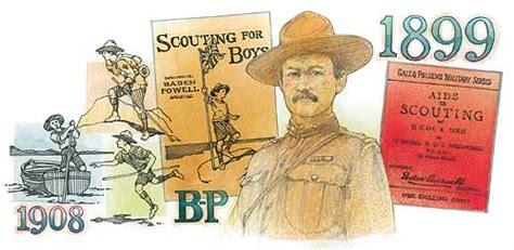 Baden-Powell's First Scouting Books