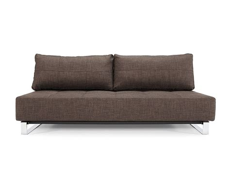 Comfy Sleeper Sofa by Comfy Brown Contemporary Tufted Fabric Sofa Bed Plano