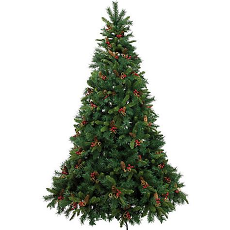 homebase christmas trees berry and cone 7ft green tree at homebase be inspired and make your house a home
