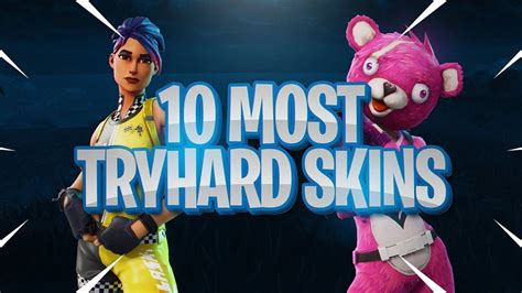 tryhard skins  fortnite  players sweat
