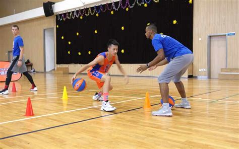 coach youth basketball in china five sports