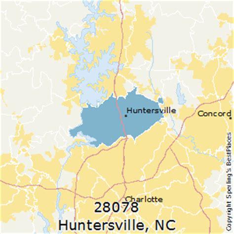 places    huntersville zip  north