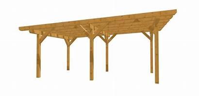 Carport Holz Bauplan Flachdach Bauen Selber Giebel