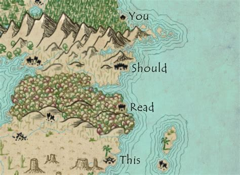 crafting plausible maps mythcreants