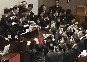 Disorder in the house: South Korean MP sets of tear gas in ...