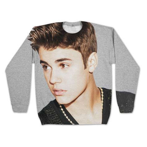 justin bieber sweater justin bieber sublimated sweatshirt from justinbieber shop