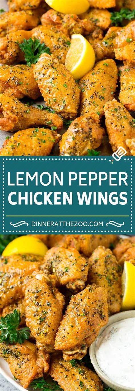 lemon pepper wings dinner   zoo