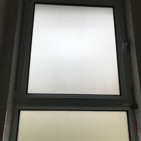 diy frosted privacy window glass shading tinted tint white glass effect