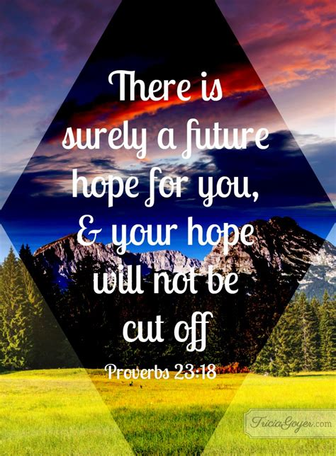 tricia goyers blog future hope proverbs