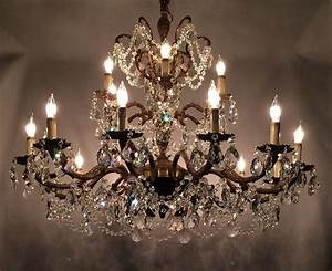 How to make a antique crystal chandeliers home ideas