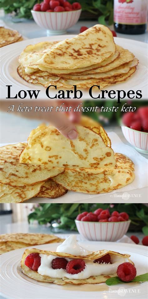 It's packed with so much delicious cheese flavor, even the kids will be asking for more! Low Carb cream cheese crepes - Remington Avenue