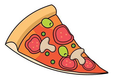 Pizza Slice Pig Clipart