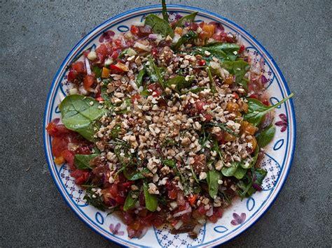 recettes de cuisine turque salade anatolienne pleine de fraîcheur et saveurs recette