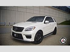 ML 63 AMG on PUR Wheels by Inspired Autosport autoevolution