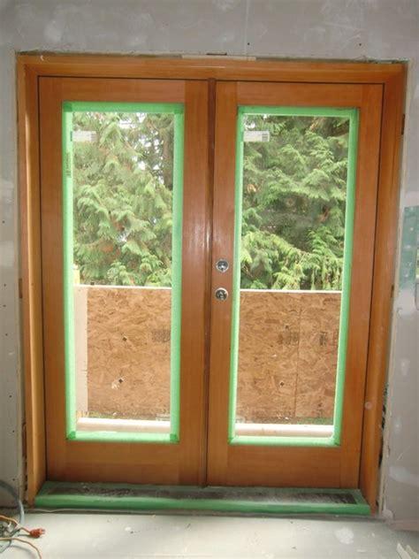 solid vg fir full lite french door modern front doors