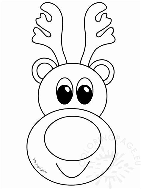 reindeer drawing template    clipartmag