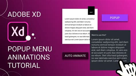 Animating this one little property is responsible for the entire effect. Cool Popup Animations in Adobe Xd + Export as HTML/CSS ...