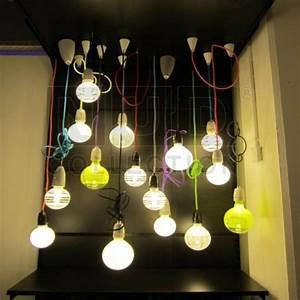 Nud pendant light cord dining area