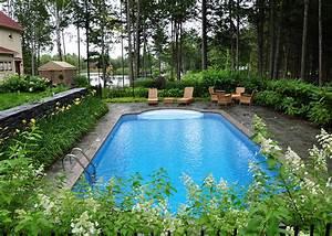 realisation chute piscine creusee paysage lambert With amenagement de piscine exterieur 2 realisation chute piscine creusee paysage lambert
