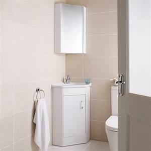 Ultra design cloakroom corner basin vanity unit corner for Corner bathroom cabinet