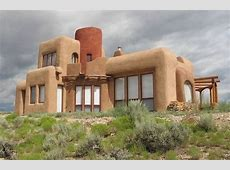 Straw Bale Home Completely off grid and self sufficient