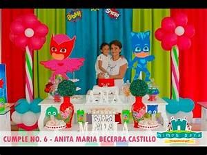 CUMPLE ANITA MARIA PJ MASK YouTube