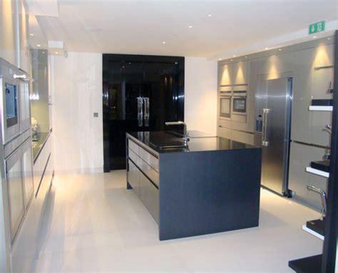 ex display kitchen island ex display high gloss handless rotpunkt kitchen island 7096
