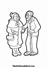Coloring Pages Grandparents Grand Printable Ma Pa Getcolorings sketch template