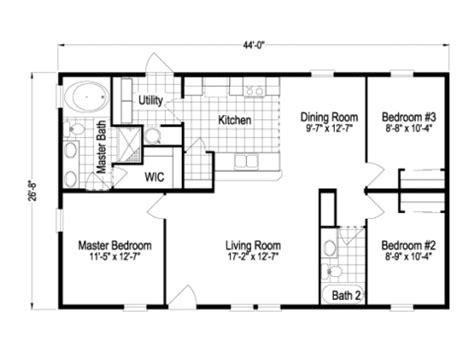 mesa tla manufactured home floor plan  modular