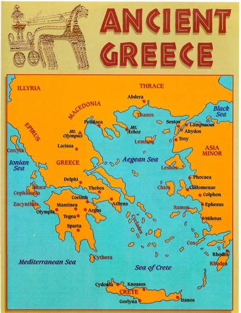 ancient greece map vs modern greece map http www