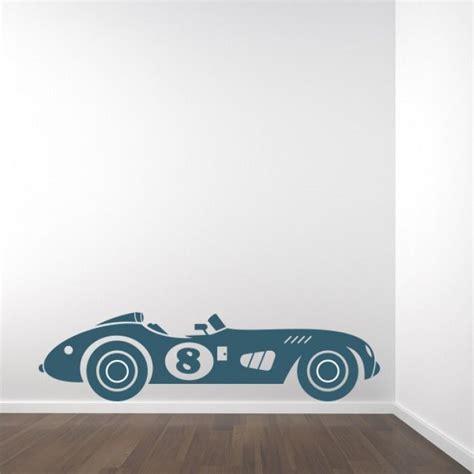 muursticker retro auto auto thema