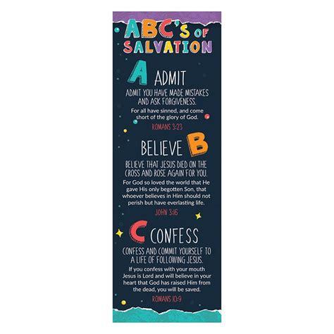 abcs  salvation bookmark pk inspirational gifts