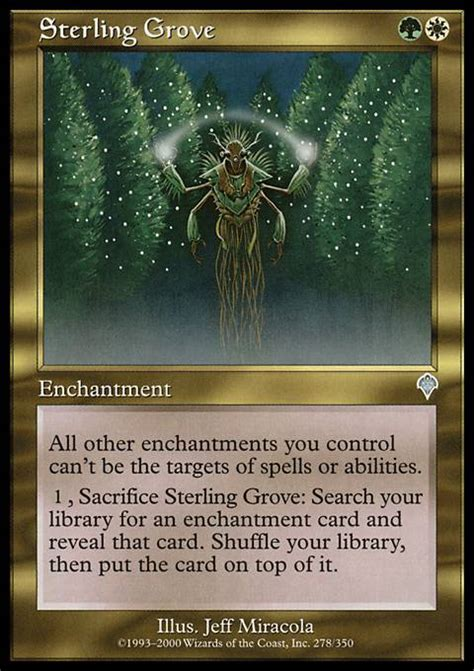 Mtg Enchantment Deck Edh by Sterling Grove Mtg Card