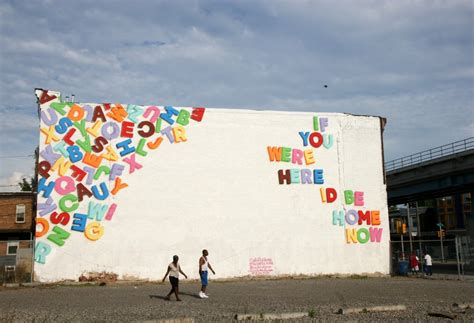 Philly Mural Arts Letters by The 10 Best Works The Spot
