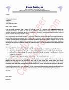 Nurse Cover Letter Sample New Grad Rn Cover Letter Sample Nursing Cover Letter 7 Examples In Word PDF Cover Letter Example Nursing