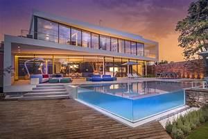 Smart, Home, Design, Cool, Blue, Villa, By, 123dv