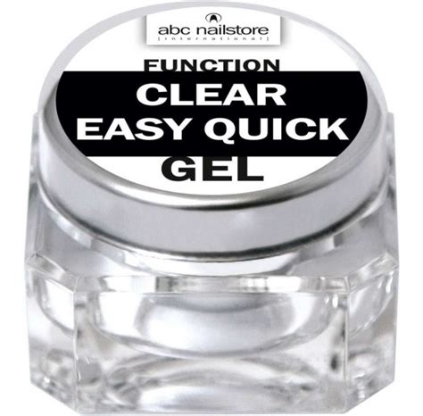 Function Clear Easy Quick Gel
