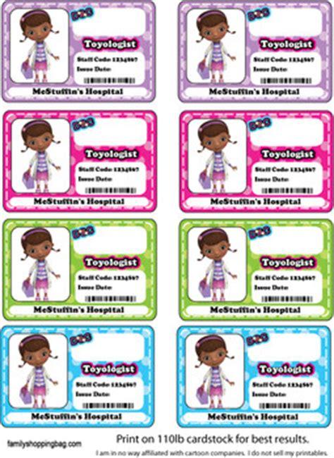 badges  mcstuffins stickers  printable ideas