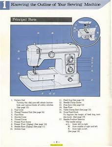 Sewing Machine Bobbin Case Diagram